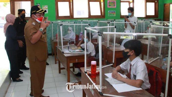 PTM di Nganjuk, Pemkab Minta Kepsek Bentuk Tim Satgas Covid-19 di Sekolah