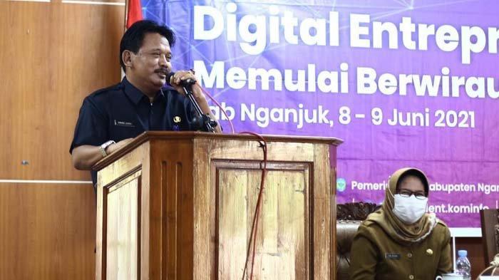 Cetak SDM Unggul, Pemkab Nganjuk Gelar Pelatihan Digital Entrepreneurship Academy