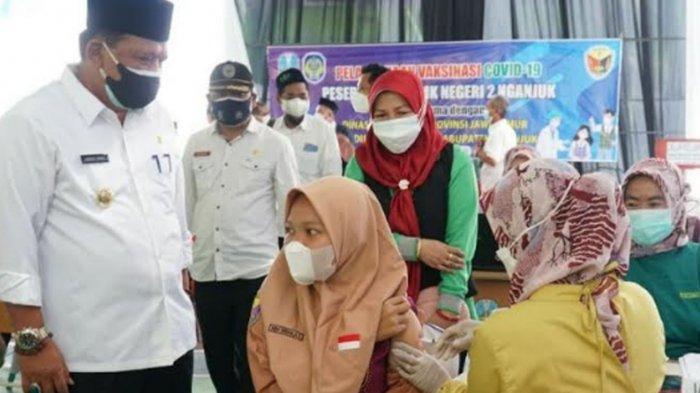 Anak-anak di Kabupaten Nganjuk Mulai Vaksinasi Covid-19, Kejar Target Pencapaian Herd Immunity