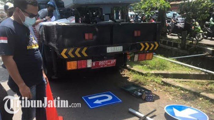 Jalan Raya Sawojajar Kota Malang Dijadikan Satu Arah, Hari Ini Dipasang Rambu Lalu Lintas