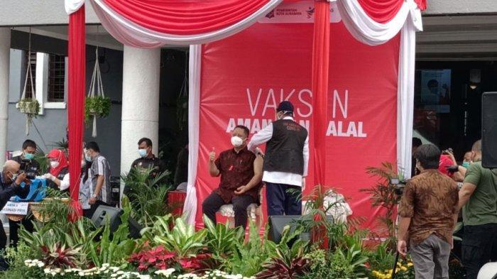 Vaksinasi Covid-19 Gelombang Kedua di Surabaya Tunggu Distribusi Vaksin ke Kota Pahlawan