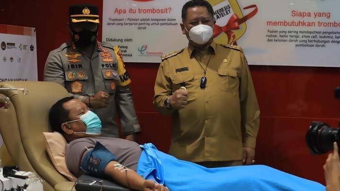 Tekan Angka Kematian Akibat Covid-19, Pemkot Surabaya Terus Masifkan Donor Plasma Konvalesen