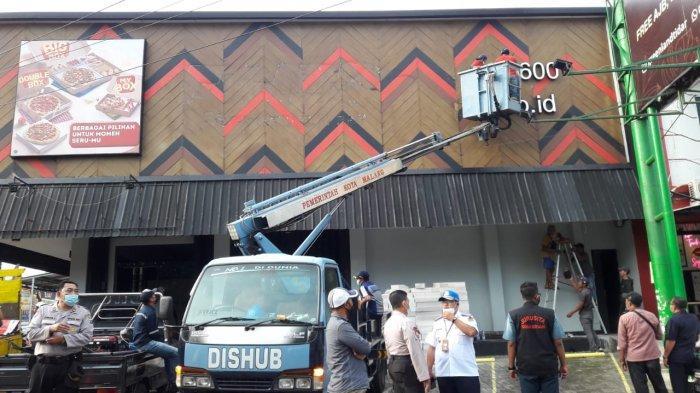 Jadi Objek Sengketa, Ruko Pizza Hut Delivery PHD Jalan Galunggung Dieksekusi PN Malang