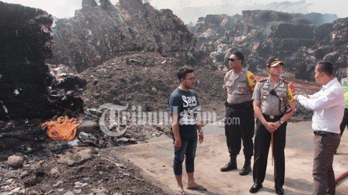 PT Surabaya Mekabok Terbakar Habis, Polres Gresik Menduga Api dari Luar Pagar