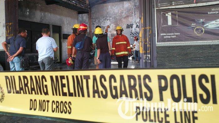 Diduga Jual Pertamax Oplosan, Polres Ponorogo Pasang Police Line di SPBU Ponorogo Ini