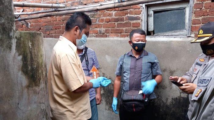 Polisi datangi lokasi bunuh diri di Kediri