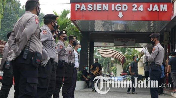 Antisipasi Pengambilan Paksa Jenazah Covid-19 di Blitar, Polisi Siagakan Personel di Rumah Sakit