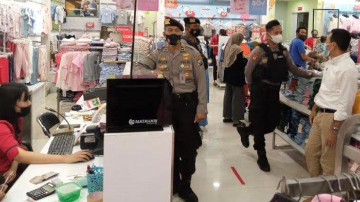 Cegah Kerumunan di Pusat Perbelanjaan, Polresta Malang Kota Lakukan Pemantauan di Dua Lokasi Ini