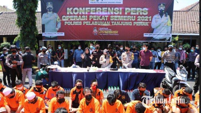 Preman Kampung Pemalak Sopir Truk di Surabaya Ditangkap, Bawa Sajam Takuti Korban