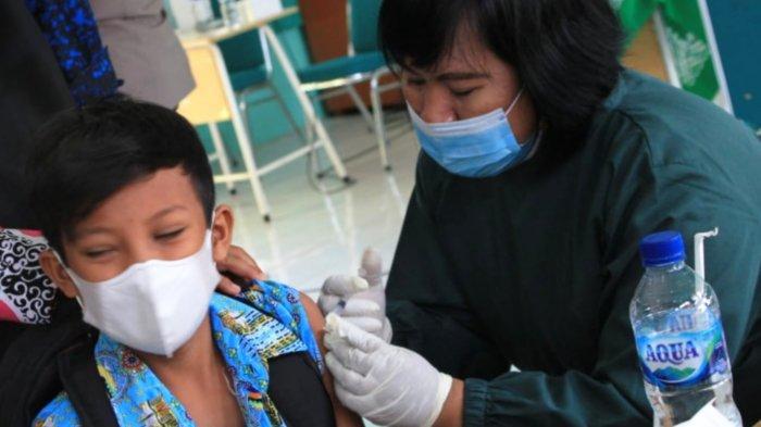 Percepat Proses Herd Immunity, Polres Magetan Menyasar Vaksin Bocah 12 Tahun ke Atas