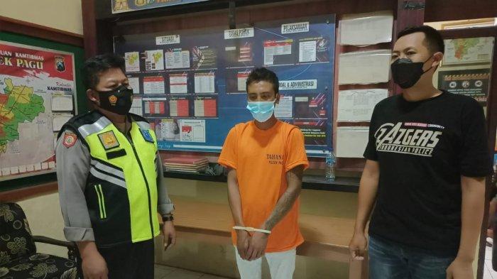 Pengamen asal Jombang Diringkus Polsek Pagu Kediri Seusai Mencuri Ponsel Milik Warga Kayen Kidul