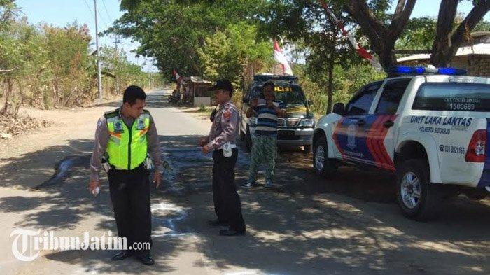 BREAKING NEWS - Kakek Asal Pasuruan Tewas Tertabrak Truk di Sidoarjo, Luka Parah di Kepala dan Kaki