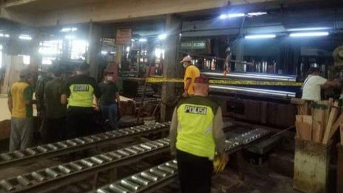 Kecelakaan Kerja di Gresik Telan Korban Jiwa, Tubuh Korban Masuk ke Dalam Mesin Roll Spreader