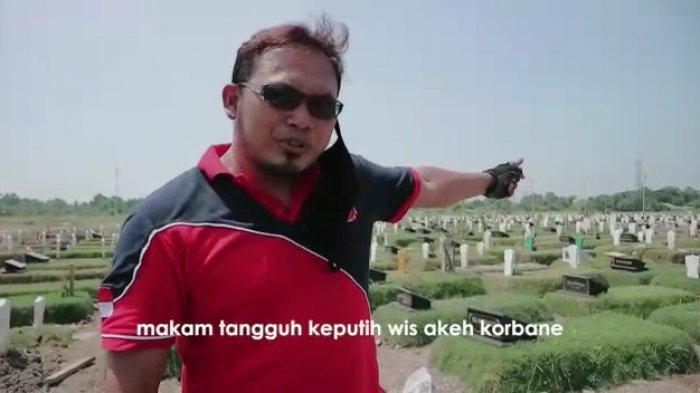 Cara Unik Polisi Imbau Agar Tak Mudik Lebaran, Pakai Video Makam Covid 19 Sebagai Pengingat