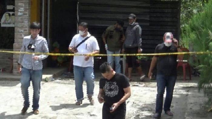 Polisi yang mendatangi kembali TKP kasus Subang pada Rabu siang ini.