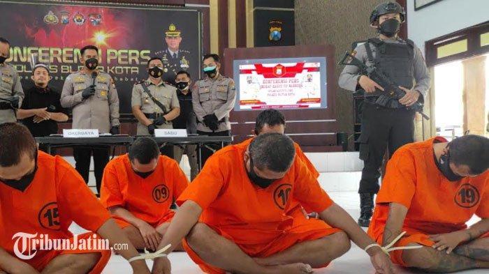 Mantan Pegawai Harian Lepas Damkar Kabupaten Blitar Jadi Pengedar Sabu