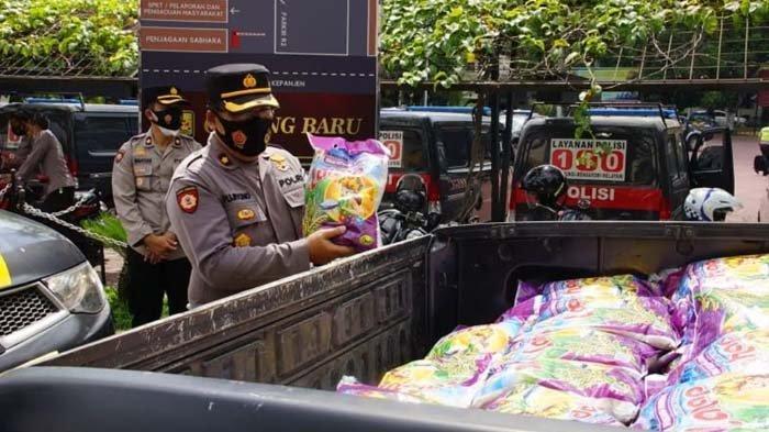 52 Ton Beras Bantuan Disebar di Kabupaten Malang untuk Warga Terdampak PPKM Darurat