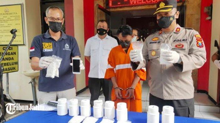Pengedar Barang Haram di Kalangan Pelajar dan Buruh Kota Malang Ditangkap, 8.000 Pil Koplo Diamankan