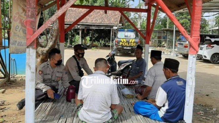 Polsek Palengaan Patroli Protokol Kesehata ke Sejumlah Desa di Pamekasan