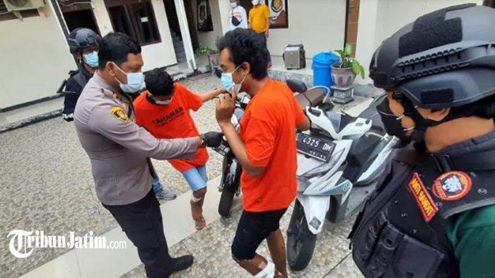 Coba Kabur Usai Mencuri Motor Pakai Kunci T, 2 Bandit Jalanan Didor Unit Reskrim Polsek Sukolilo