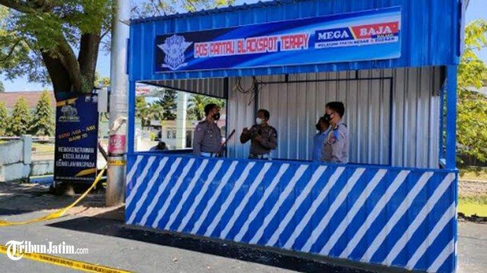 Satlantas Polresta Malang Kota Dirikan 'Blackspot Therapy', Antisipasi Laka Lantas di Jalur Rawan