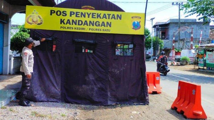 Polres Kediri Sudah Dirikan Pos Penyekatan Lebaran 2021, Nekat Mudik Siap-siap Putar Balik