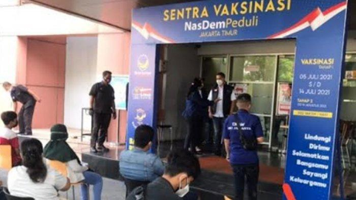 Lawan Penyebaran Covid-19, Partai NasDem Jatim Bakal Siapkan Sentra Vaksinasi di Daerah