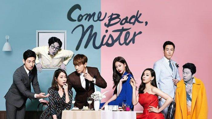 Poster drama Korea Come Back Mister.
