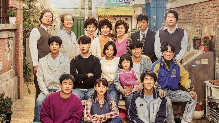 Poster drama Korea Reply 1988.