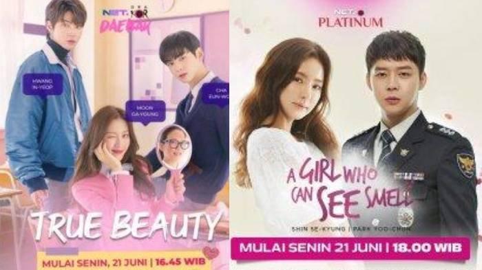 Drama Korea 'True Beauty' dan 'A Girl Who Can See Smell' Tayang Besok di NET, Cek Jamnya di Sini!