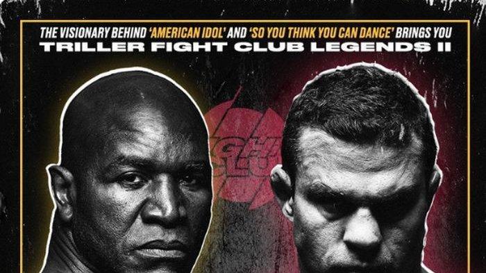 Hasil Tinju Dunia - Tumbang di Tangan Legenda UFC, Evander Holyfield Kalah TKO di Ronde Pertama