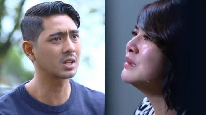 Potret Aldebaran dan Andin di trailer Ikatan Cinta Jumat, 29 Januari 2021.