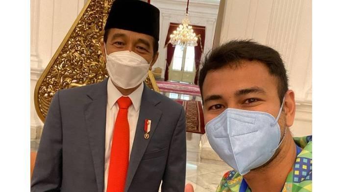 Ucapan Ulang Tahun Jokowi ke-60, Setneg Beri Pantun Berisi Doa, Raffi Unggah Selfie Bareng Presiden
