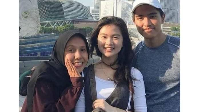 Potret kebersamaan Nadya Arifta, Felicia Tissue, dan Kaesang Pangarep.