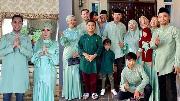 Zaskia Gotik Lebaran Pertama sebagai Istri Siri Sirajuddin, Begini Perlakuan Suami pada Keluarganya