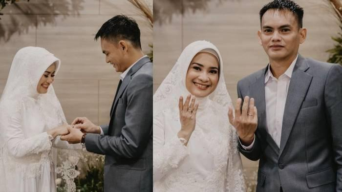 Potret pernikahan Karlie Fu dan Ikke Nurjanah.