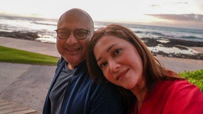 Potret Maia Estianty dan Irwan Mussry.