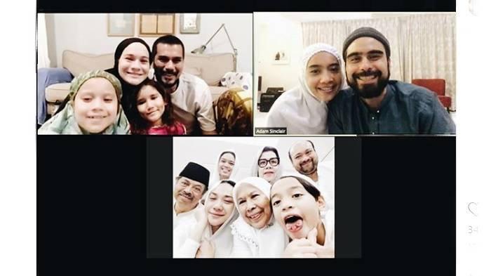 Potret Mata Sembab BCL saat Tahlilan 40 Hari Meninggalnya Ashraf, Keluarga Juga Kompak Video Call