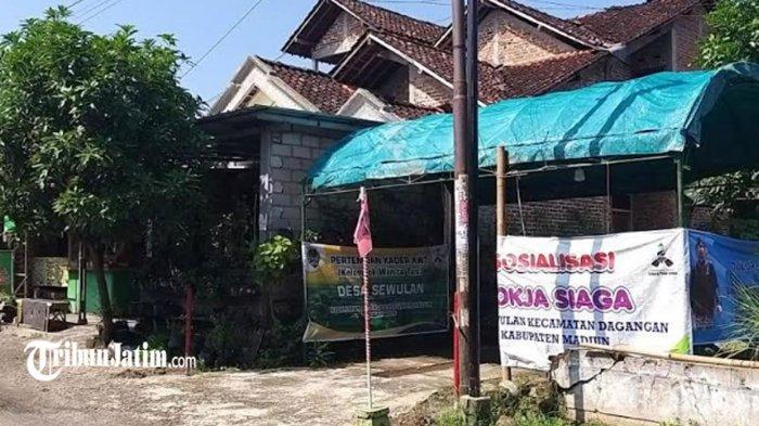 Posko PPKM Mikro di Desa Sewulan Madiun Tak Ada yang Jaga, Padahal Masuk Zona Merah Covid-19