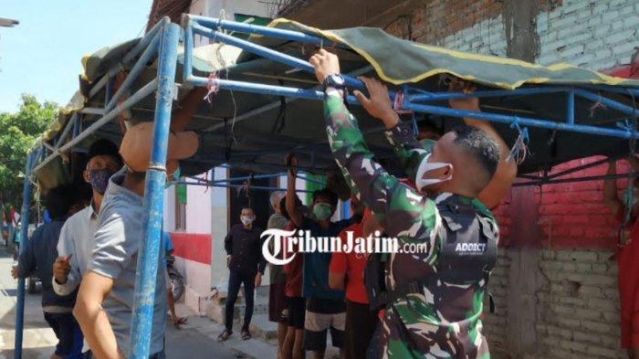 Kawasan Mikro Lockdown Jalan Raung Gang 5 Kota Kediri Telah Dibuka