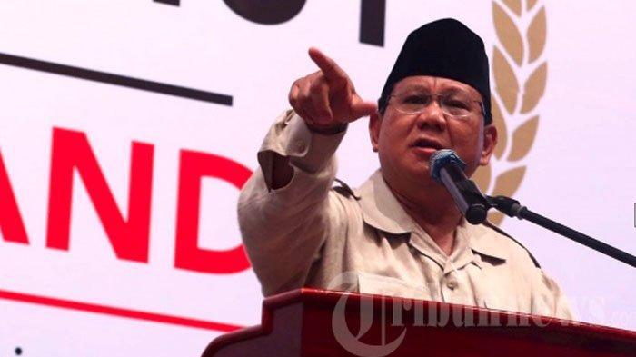 Prabowo Subianto Sebutkan 7 Nama yang Dinilai Cocok Jadi Menteri di Kabinetnya