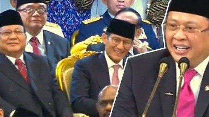 Reaksi Prabowo dan Sandiaga Uno saat Dapat Pantun 'Tak Jadi Kepala Negara' dari Bambang Soesatyo