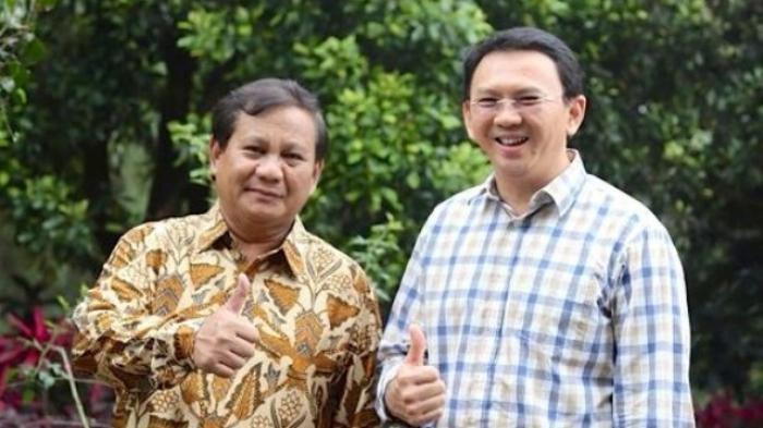 Berpotensi Jadi Capres Dalam Pilpres 2024, Ahok BTP Bisa Jadi Kuda Hitam, Prabowo Masih Berpeluang