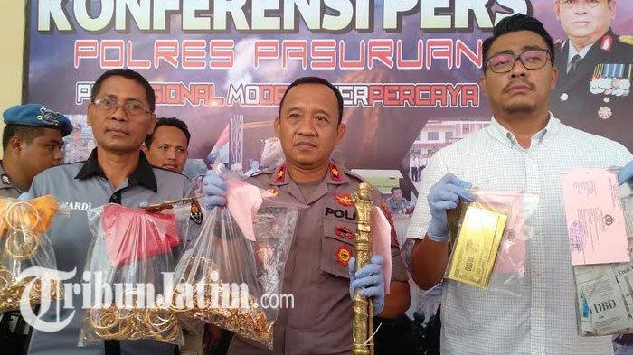 BREAKING NEWS - Ahli Pengobatan Alternatif di Pasuruan Dicokok Polisi, Ngaku Bisa Gandakan Uang-Emas