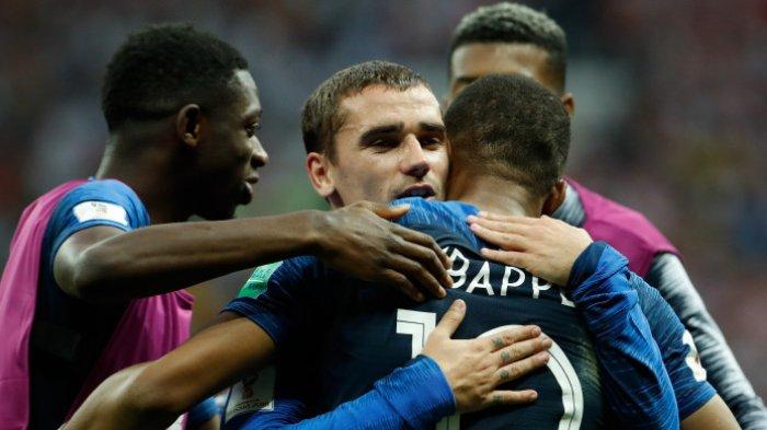Penampilan Pengusaan Bola Terjelek Sepanjang Piala Dunia 2018, Prancis Malah Juara