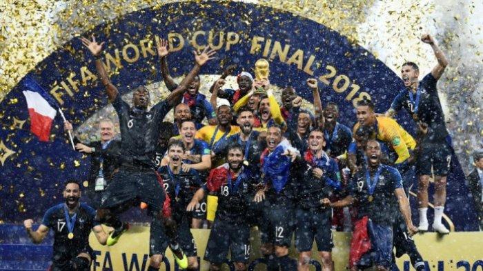 5 Hal yang Terlewatkan di Final Piala Dunia 2018, Salah Satunya Prancis Menang dengan Striker Mandul