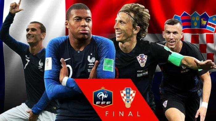 8 Fakta Jelang Final Piala Dunia 2018 Prancis Vs Kroasia, Kedua Tim Sama-Sama Tak Terkalahkan!