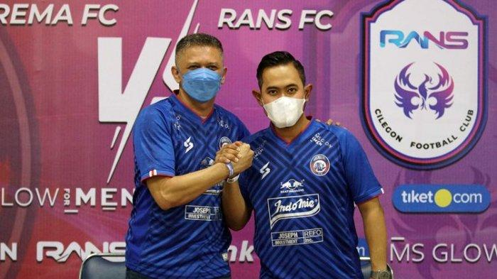 #RuddyOut Menggema di Media Sosial, Begini Tanggapan Presiden Arema FC Gilang Widya Pramana