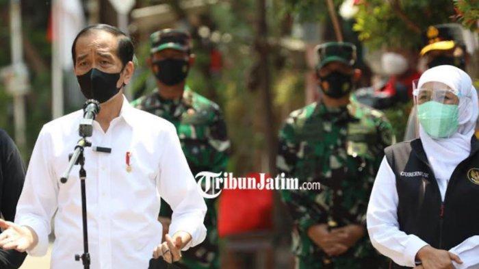 Presiden Jokowi Apresiasi Metode Vaksinasi Door To Door di Madiun