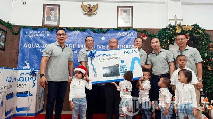 Sambut Natal 2019, Aqua Japan Indonesia Berbagi Kasih dengan Anak Yatim Piatu Yayasan Pondok Kasih
